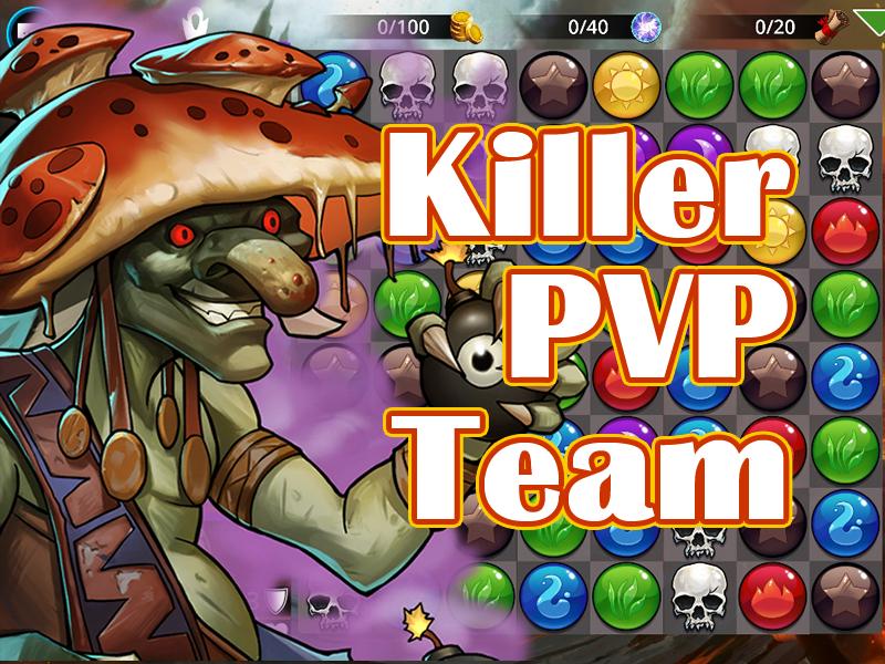 Killer PVP Team - Gems of War